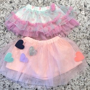 🎉 Carter's and Baby Starters Tutu Skirts